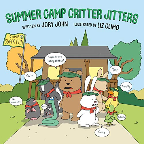Summer Camp Critter Jitters (English Edition)