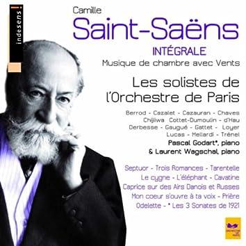 Camille Saint-Saëns : Complete Chamber Music With Winds (Intégrale de la musique de chambre avec vents)