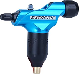 Extreme Tattoo Supply EX-S Rotary Tattoo Machine Tattoo Motor Gun Adjustable Soft and Hard RCA Cable for tattoo artists Bl...