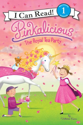 Pinkalicious: The Royal Tea Party (I Can Read Level 1) (English Edition)