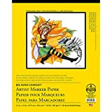 Bee Paper Bleedproof Marker Pad, 11-Inch by 14-Inch