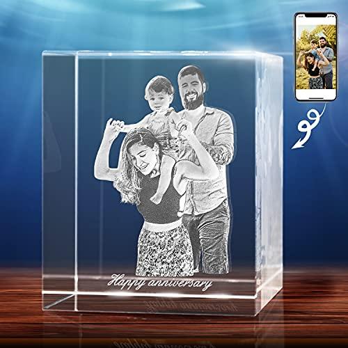 Custom 3D Crystal Photo