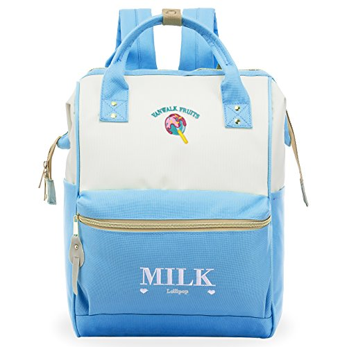ZOMAKE Casual School Backpack, Cute Travel Backpack for...