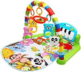 Z Baby Play Mat, Children's Educational Carpet Play Mat Baby, Piano Keyboard And Cute Animals Play Mat For Baby for Bedroo...