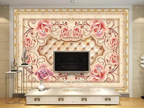 MUNXIN Wallpaper Papel Pintado 3D Piedra De Azulejos De Arte Papel Pintado Pared Moderno Dormitorio Fotomurales Decorativos Pared