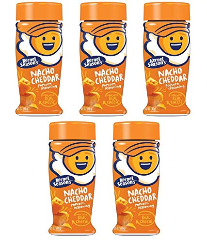 Great Deal! Kernel Season's, Popcorn Seasoning, Nacho Cheddar, 2.85 Ounce (Pack of 5)