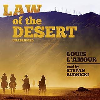 Law of the Desert audiobook cover art