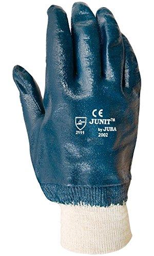 Juba - Guante de nitrilo sobre soporte de algodón /talla 9 /color...