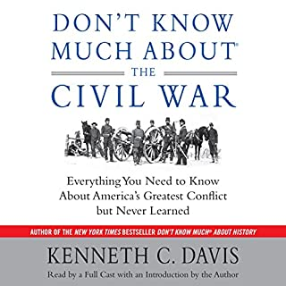 Don't Know Much About the Civil War audiobook cover art