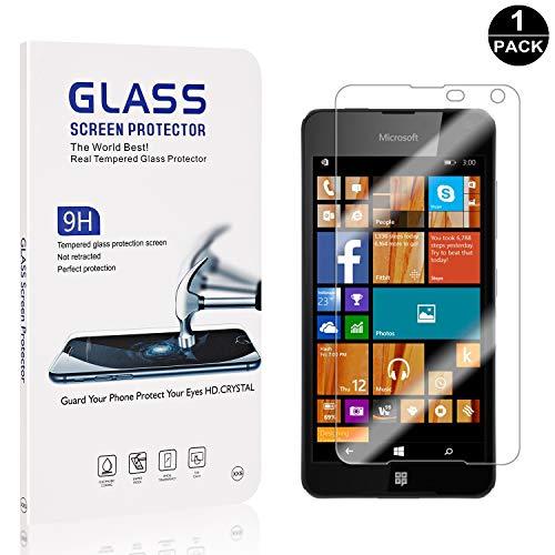 Bear Village® Protector de Pantalla Microsoft Lumia 650, Anti Aceite, Definición Alta...
