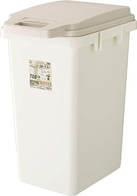 リス ゴミ箱 ワンハンドパッキンペール ベージュ 70L H&H 日本製 70JS
