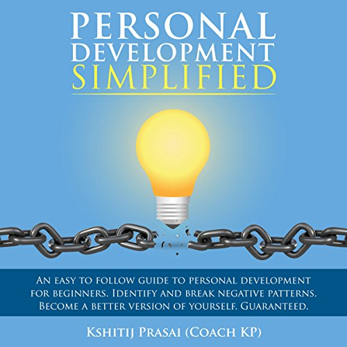Personal Development Simplified audiobook cover art