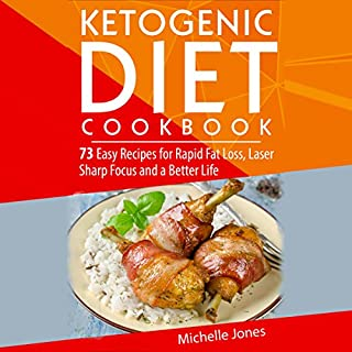 The Ketogenic Diet Cookbook cover art