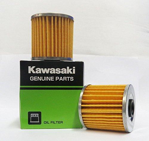 Genuine Kawasaki Oil Filter Part Number 16099-004, 2 pack