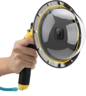"AFAITH Dome Port GoPro camera-accessoires, onderwater 6""GoPro Dome Port beschermhoes met waterdichte hoes Case Drijvende B..."