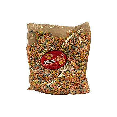 Candy Man Manna Plofrijst 1000g Beutel (Puffreis mit Krokant-Schicht))