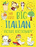 My First Big Italian Picture Dictionary: Two in One: Dictionary and Coloring Book - Color and Learn the Words...