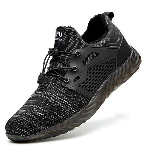 Botas y Zapatos de Seguridad con Puntera de Acero Forradas Impermeables cálido para el...