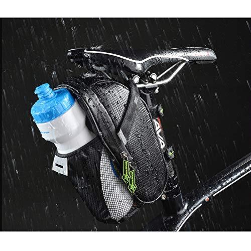 Harddo Fietsachtertas, mountainbike waterkoker, tas, vouwfiets, achterbank, rijden, accessoires, C7 Balance autotas Eén maat zwart (B)