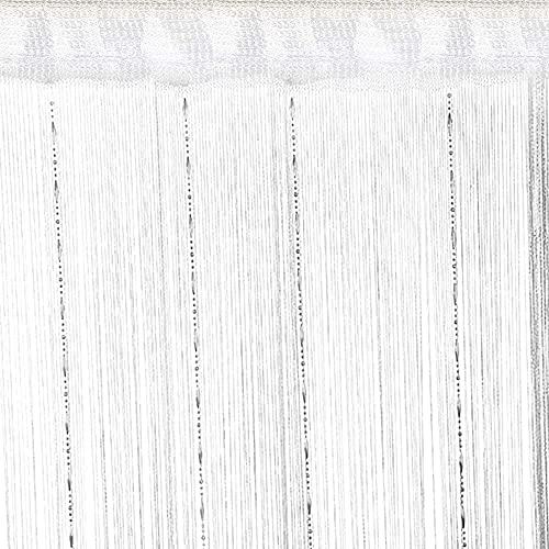 ストリングカーテン ひものれん 2枚入り 100x200cm 色褪せなく 目隠し ラメ入り 間仕切り プライバシー確保 キラキラ光る 高密度 インテリア ひものれん おしゃれ 目隠し 紐のれん 高密度 ロング キラキラ 花粉 ほこりキャッチ コードスクリー