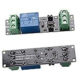ZHITING Modulo interruttore di alimentazione a relè a 1 canale 3V con fotoaccoppiatore Opto isolamento Trigger ad alto livello per scheda di sviluppo IOT ESP8266 (confezione da 2)