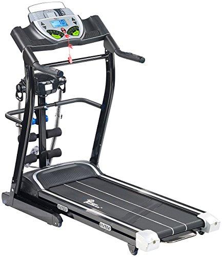 newgen medicals Laufband elektrisch, mit Fitness-Station