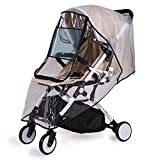 Bemece Stroller Rain Cover Universal, Baby Travel Weather Shield,...