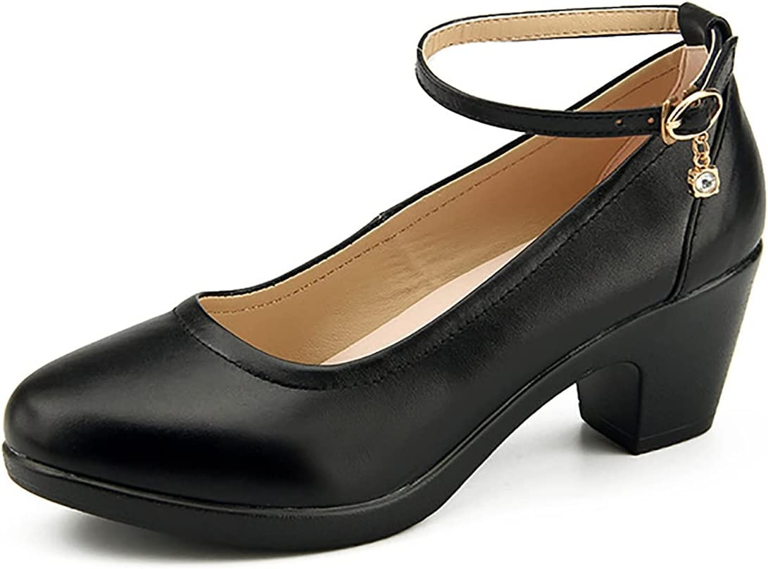 Ladies Womens Super beauty product restock quality top! Pumps In a popularity Catwalk Rough with Heavy-Bottomed All-Match