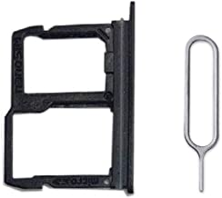 Replacement SIM/SD Card Tray Slot Holder for L G Q Stylo 4 Stylo4 Q710 Q710MS Black