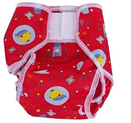 Popolini - Popolini-culotte de protection popowrap birdy red small : 3 à 6 kg