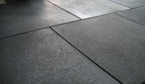 """Rubber Mat Flooring 4' x 6' x 3/4"""", Heaviest Duty, Indestructible, Non-Slip, Smooth or Diamond Surface (3/4"""" Thick, Smooth Surface)"""
