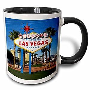 3dRose Welcome To Fabulous Las Vegas, NV Mug, 11 oz, Black from 3dRose