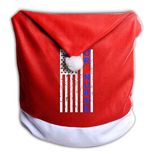 Leila Marcus Fundas de silla de Navidad o enfermera envejecida American.Png Papá Noel sombrero de...