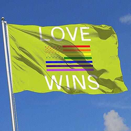 qinzuisp Tuin Vlag Lesbische Pride Shirts Gay Huis Achtertuin Tuin Vlag Polyester Breeze Vlag Banner 150X90Cm Levendig Welkom Kleurrijk