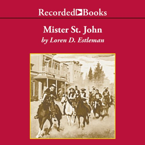 Mister St. John audiobook cover art