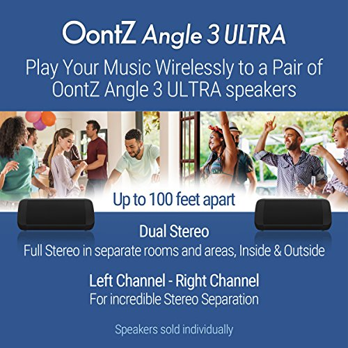 OontZ Angle 3 Ultra : Portable Bluetooth Speaker 14-Watts Deliver...