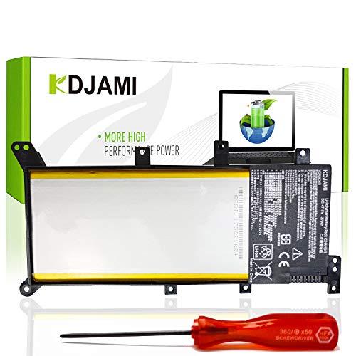 KDJAMI C21N1347 Batteria di Ricambio per ASUS A555 A555L F555 F555L F555LA-AH51 F555LD K555 K555L K555LD R556 R556L R556LD R556LJ X555 X555L X555LA X555LD X555LN (Li-Polymer 37Wh 7.5V)