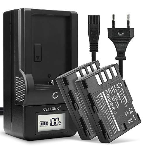 CELLONIC 2X Batería Compatible con Panasonic GH5 Lumix DC-GH5s DMC-GH4 GH4 GH4r...