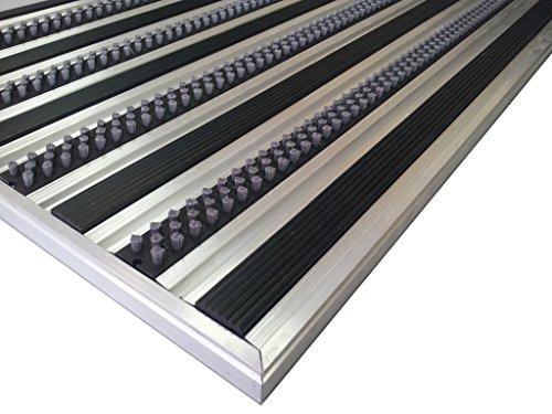 Aluminio Profesional Felpudo para sistema HD40, tamaño 110x 68cm,