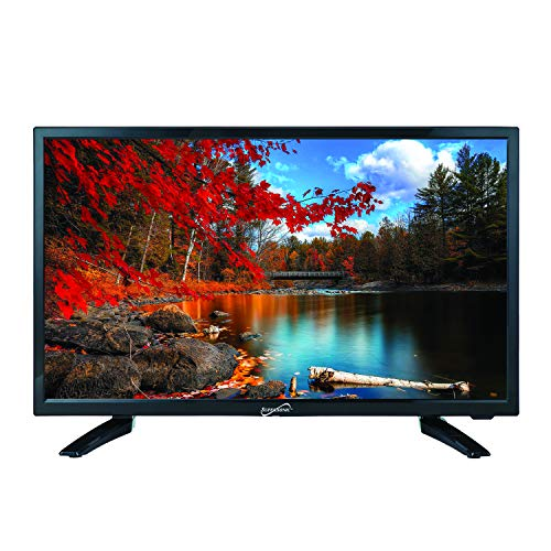 Supersonic SC-2211 22-Inch 1080p LED Widescreen HDTV with HDMI Input (AC/DC Compatible)