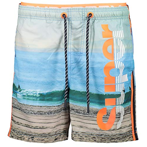 Superdry heren Photographic Volley Swim Shorts