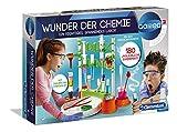 Clementoni 59187 Galileo Science – Wunder der Chemie, 180 Experimente für Zuhause, farbenfroher Experimentierkasten, Spielzeug für Kinder ab 8 Jahren, ideal...