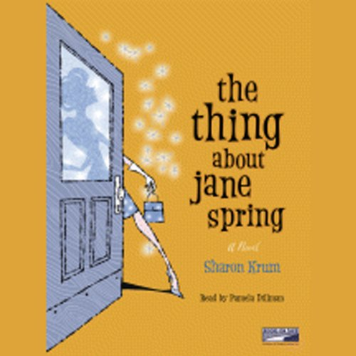 The Thing About Jane Spring audiobook cover art