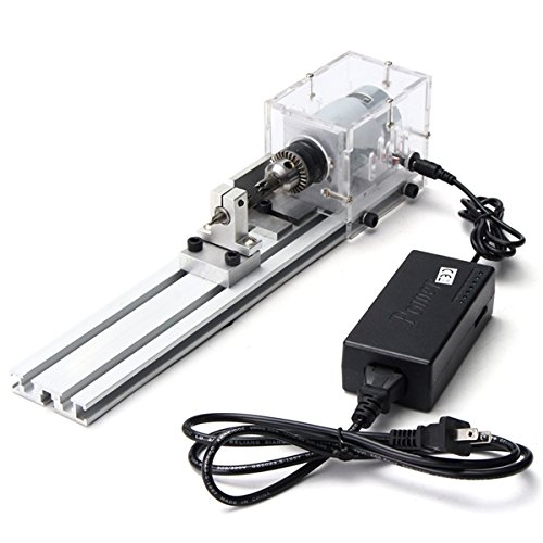 Great Features Of New 24V 80W Mini Lathe Beads Polisher Machine for Table Woodworking Wood DIY Tools