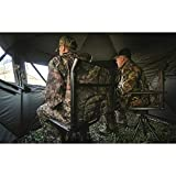 Bolderton 360 Comfort Swivel Hunting Chair with Armrests, Mossy Oak Break-Up Country, Mossy Oak Country Camo