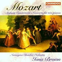 Sinfonia Concertante for Violin & Viola K364