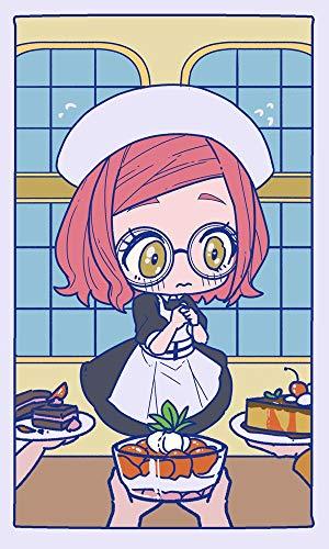 GUANGZHENG Feuerwaffen-Diamant-Malerei/Mädchen mit rosa Haaren trägt eine Brille Cartoons Muster/Anime Dekorative Malerei/Familie Schlafzimmer Handwerk/Eltern-Kind-Interactive Puzzle Toys/Ge
