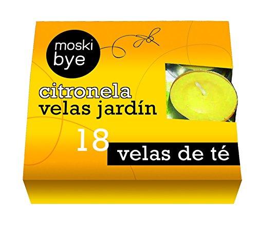 Flower 20557 20557-Vela de té, No Aplica, 11.3x3x11.3 cm