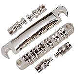 Ricambio Per Chitarra Elettrica In Ferro Sella Per Cordiera Per Chitarra Gibson Les Paul Style Tune-O-Matic