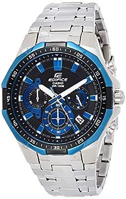 Casio Edifice Reloj Analógico de Cuarzo para Hombre con Correa de Acero Inoxidable – EFR-554D de Casio